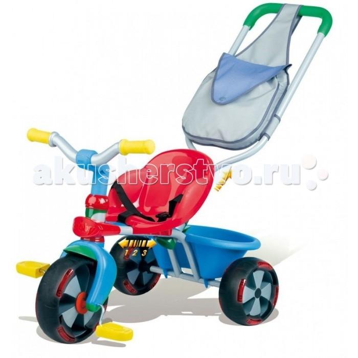 Велосипед трехколесный Smoby Baby Balad