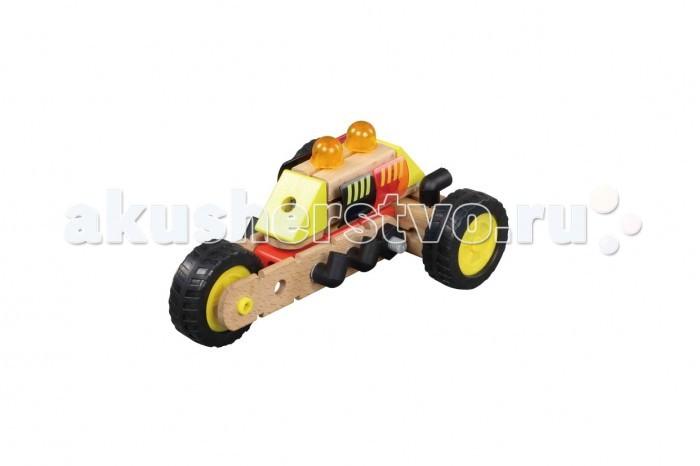 Конструктор Balbi деревянный WW-273 (44 детали)деревянный WW-273 (44 детали)Конструктор Balbi деревянный WW-273 (44 детали). Конструктор Balbi WW-273 представляет собой набор деревянных деталей из которых можно собрать одну из двух моделей: трицикл или спортивную машину.   В комплект входит: инструкция по сборке моделей, 44 детали, гаечный ключ.   Набор развивает творческие и конструкторские навыки у ребёнка. Все деревянные детали имеют качественную обработку, обеспечивая полную безопасность для ребёнка, некоторые детали выполнены из пластика.<br>
