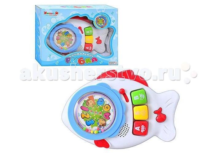 Музыкальная игрушка Zhorya Умный Я Пианино РыбкаУмный Я Пианино РыбкаZhorya Умный Я Пианино Рыбка со светом и звуком - это увлекательная игрушка с различными звуковыми эффектами.   Она выполнена в яркой цветовой гамме из высококачественных материалов.   С помощью данной игрушки ваш ребёнок выучит цифры и буквы, а также услышит веселые звуки и песенки.<br>