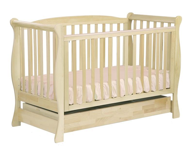 Детская кроватка Кубаньлесстрой БИ 05 Феррария с ящиком