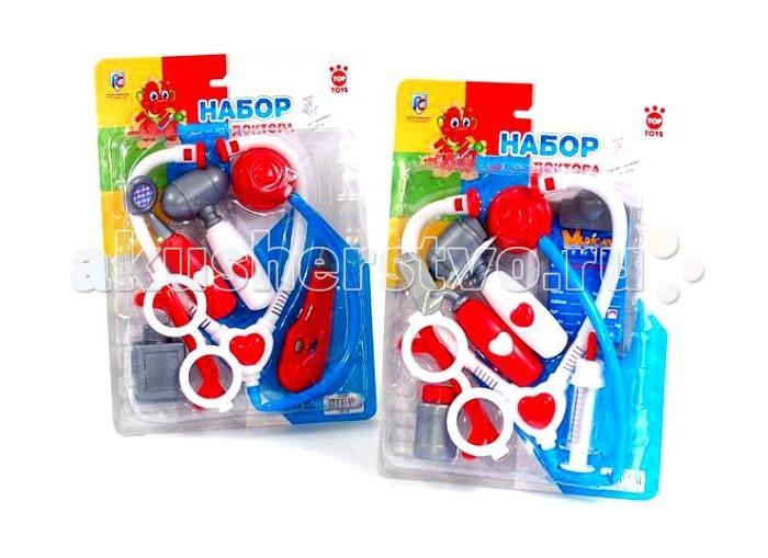 Top Toys Набор доктора GT4961Набор доктора GT4961Top Toys Набор доктора GT4961 станет отличным подарком для вашего ребенка.  С помощью набора доктора любой ребенок сможет почувствовать себя настоящим врачом.   В нем есть различные медицинские инструменты, которые сделают игру интересной и познавательной.   Набор способствует развитию внимания, воображения и координации движений.<br>