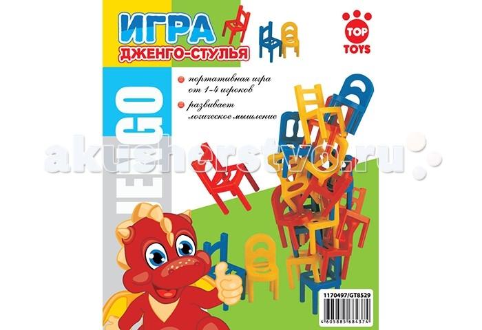 Top Toys Игра Логика Дженго-Стулья от Акушерство