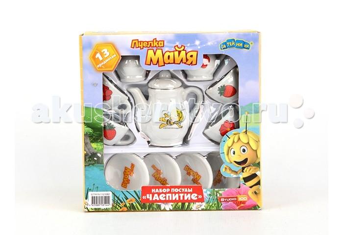Пчелка Майя Набор посуды GT7419 Чайный сервиз 13 предметов