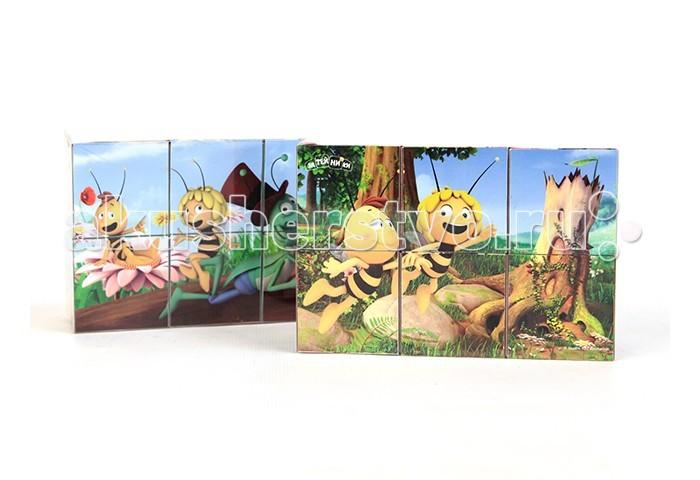 Деревянная игрушка Пчелка Майя Кубики Майя и ее друзья 6 шт.Кубики Майя и ее друзья 6 шт.Кубики GT8946 Майя и ее друзья 6шт удобное пособие для развития зрительной памяти, логики и мелкой моторики у детей.  С помощью кубиков Майя и ее друзья можно составить 6 картинок, благодаря которым любой ребенок узнает любимых персонажей мультсериала.<br>