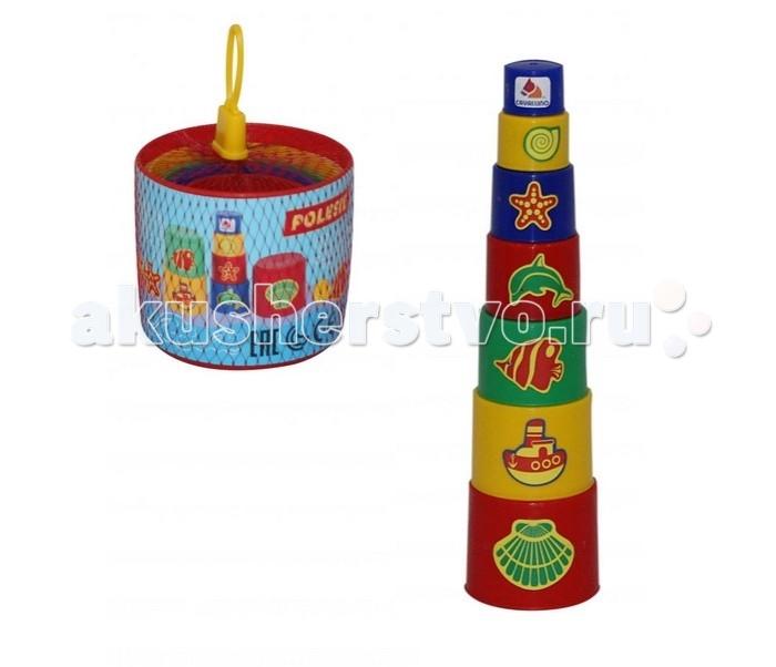 Развивающая игрушка Полесье Занимательная пирамидка № 3Занимательная пирамидка № 3Полесье Занимательная пирамидка № 3 представляет собой высококачественную развивающую игрушку. С ее помощью ребенок сможет выстроить высокую башенку.  Особенности: Ее элементы в любой момент можно разъединить для создания других построек. Набор представляет собой 7 цветных стаканчиков из прочного пластика. Они используются для создания различных конструкций.  Стаканчики всегда можно будет сложить друг в друга по принципу матрешки.  В этом случае игрушка не будет занимать много места.<br>