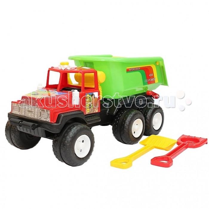 R-Toys Машина Фаворит 120 МaxМашина Фаворит 120 МaxR-Toys Машина Фаворит 120 Мax на 4 широких и проходимых колесах понравится юному автомобилисту - любителю больших и прочных машин.   Особенности: Такая игрушка будет незаменима в песочнице, с ней можно играть бесконечно, перевозить песок и многое другое.  Игра с такими большими самосвалами позволяет в полной мере имитировать реальные погрузочно-разгрузочные работы, дает возможность применить ребенку свою фантазию, помогает разыгрывать различные ситуации.  Это идеальная игрушка для игр на открытом воздухе и отлично подойдет для игры на даче, во дворе, на загородных участках, на площадках, в песочницах. Эти самосвалы отличаются высоким качеством, дизайном и функциональностью. Яркий и красивый дизайн понравится Вашему малышу!  Эта машина способна решать большие воспитательные задачи, развивает много хороших качеств: помощь друзьям и взрослым, ответственность, заботу, доброту и внимание.  Детская машина — это пластмассовая игрушка, изготовленная из высококачественного сырья.  В производстве этих машин используются безопасные материалы.  Пластик не деформируется и не выгорает под солнцем.  Рекомендуется для детей от 3 лет.  В комплекте: лопатка и грабли для игр в песочнице.  Размер 46х90х43 см.<br>