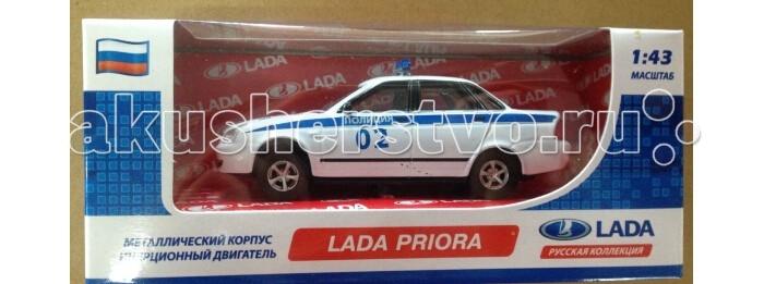 Carline Машина инерционная 1:43 Lada Priora GT7804