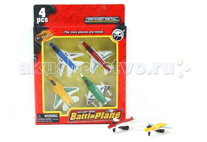 S+S Toys Набор Самолетов BA-10114Набор Самолетов BA-10114Набор Самолетов BA-10114 состоит из 4 металлических самолетов разного цвета. Этот набор самолетов можно использовать для игры дома и на улице с друзьями, придумывая различные сюжеты для игры и развивая таким образом фантазию. Подвижная игра с участием самолетов помогает так же развивать ловкость, координацию движений и сноровку, способствует общефизическому развитию ребенка.<br>