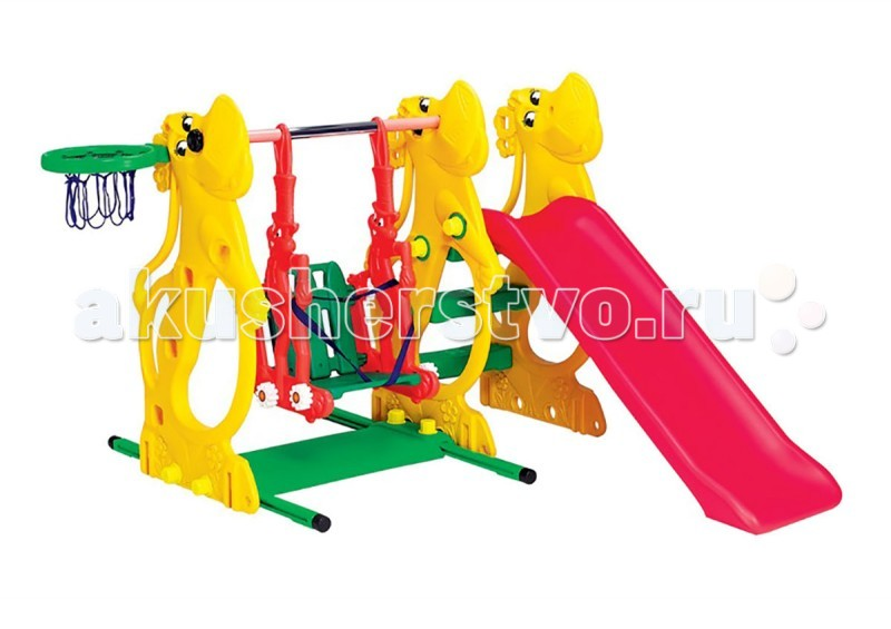 BabyOne Игровой комплекс Ching-Ching Бегемот SL-13