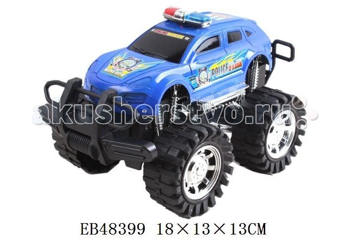 S+S Toys Машина Полиция B24693Машина Полиция B24693Машина B24693 Полиция внедорожник повышенной проходимости с инерционным механизмом. Эта яркая машина без сомнения понравится вашему ребенку, ведь ее не обязательно катать по полу или другой поверхности.  Инерционный механизм позволяет отпускать машину в самостоятельную поездку. Достаточно поставить ее на ровную поверхность, отвести назад не отрывая, заводя таким образом инерционный механизм, и отпустить.  Играя с этой машиной ребенок развивает глазомер и чувство направления, координацию, моторику рук и воображение.<br>