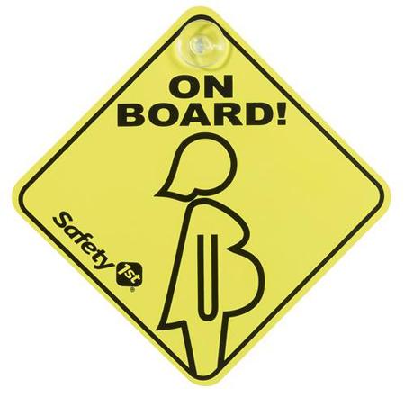 Аксессуары для автомобиля Safety 1st Беременная женщина в автомобиле