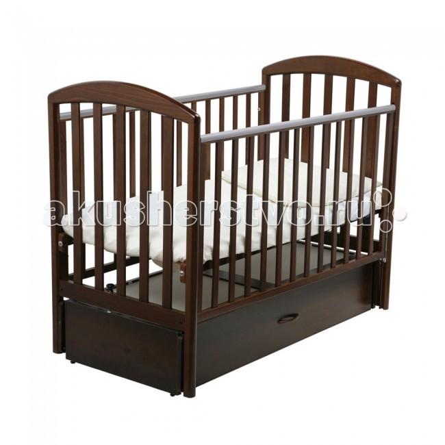 Детская кроватка Papaloni Джованни маятник 125х65