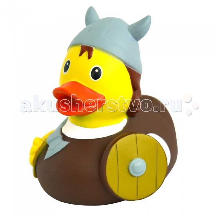 FunnyDucks Игрушка для ванны Уточка викингИгрушка для ванны Уточка викингFunnyDucks Игрушка для ванны Уточка викинг. Резиновая желтая уточка - всемирно известная классическая игрушка для ванной. В дополнении к стандартной игрушке предлагаем более 100 дизайнерских уток-персонажей.   Рекомендованы для детей от 3-х лет, изготовлены из безопасных, нетоксичных материалов и соответствуют сертификату ТР ТС.   Предназначены для игр в воде, на улице и дома, при нажатии издают негромкий пищащий звук. На воде держатся ровно, голова не перевешивает, на бок не заваливаются.   Размеры уток 8,5 см х 8,5 см<br>