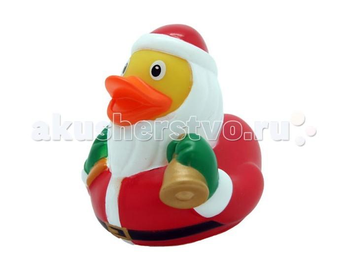 FunnyDucks Игрушка для ванны Уточка дед морозИгрушка для ванны Уточка дед морозFunnyDucks Игрушка для ванны Уточка дед мороз. Резиновая желтая уточка - всемирно известная классическая игрушка для ванной. В дополнении к стандартной игрушке предлагаем более 100 дизайнерских уток-персонажей.   Рекомендованы для детей от 3-х лет, изготовлены из безопасных, нетоксичных материалов и соответствуют сертификату ТР ТС.   Предназначены для игр в воде, на улице и дома, при нажатии издают негромкий пищащий звук. На воде держатся ровно, голова не перевешивает, на бок не заваливаются.   Размеры уток 8,5 см х 8,5 см<br>