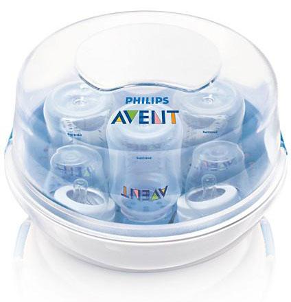 Подогреватели и стерилизаторы Philips-Avent Стерилизатор для СВЧ с бутылочками SCF 282/02
