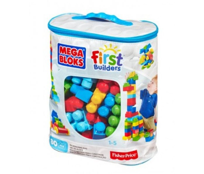 ����������� Mega Bloks First Builders ������� ����������� 80 �������