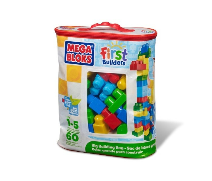 ����������� Mega Bloks First Builders ������� ����������� 60 �������