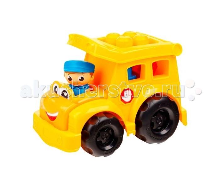 Конструктор Mega Bloks Школьный автобусШкольный автобусКонструктор Mega Bloks Школьный автобус  Это конструктор серии First Builder предназначенный для самых маленьких малышей. Все детали очень крупные, поэтому они не смогут навредить малышу, а играть с ними очень удобно.<br>