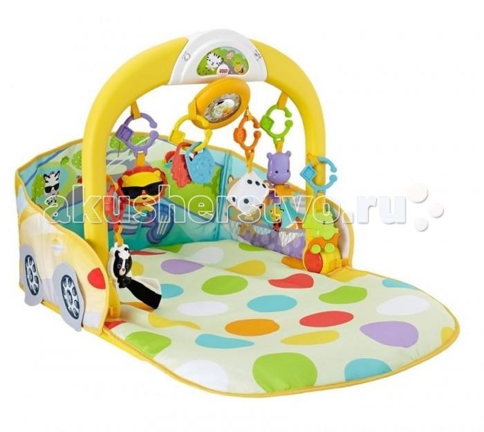 Развивающий коврик Fisher Price 3-В-1 Складной Авто