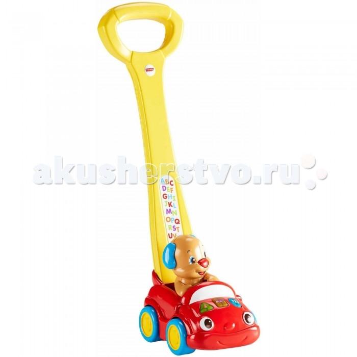 Каталка-игрушка Fisher Price Автомобиль Ученого щенка