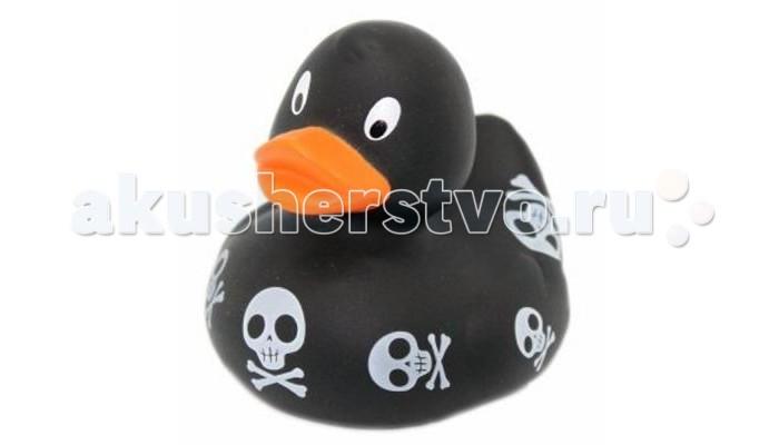 FunnyDucks Игрушка для ванны Уточка с черепамиИгрушка для ванны Уточка с черепамиFunnyDucks Игрушка для ванны Уточка с черепами. Резиновая желтая уточка - всемирно известная классическая игрушка для ванной. В дополнении к стандартной игрушке предлагаем более 100 дизайнерских уток-персонажей.   Рекомендованы для детей от 3-х лет, изготовлены из безопасных, нетоксичных материалов и соответствуют сертификату ТР ТС.   Предназначены для игр в воде, на улице и дома, при нажатии издают негромкий пищащий звук. На воде держатся ровно, голова не перевешивает, на бок не заваливаются.   Размеры уток 8,5 см х 8,5 см<br>