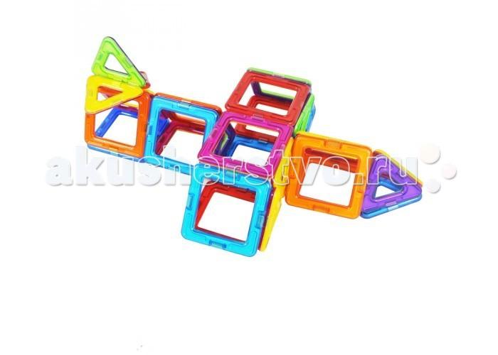 Конструктор Магникон MK-30 магнитный (30 деталей)MK-30 магнитный (30 деталей)Конструктор Магникон MK-30. МАГНИКОН — это развивающий магнитный конструктор нового поколения!   Он состоит из деталей простых геометрических форм: треугольников, квадратов, ромбов и многих других, которые легко соединяются между собой силой магнитного притяжения пластик, с элементами из металла, магнита.  Эти конструкторы подходят для разных возрастов. Для малышей - это развитие мелкой моторики рук, изучение простейших геометрических форм, а для детей постарше погружение в увлекательный мир 3D-моделирования, знакомство с азами геометрии и арифметики.<br>