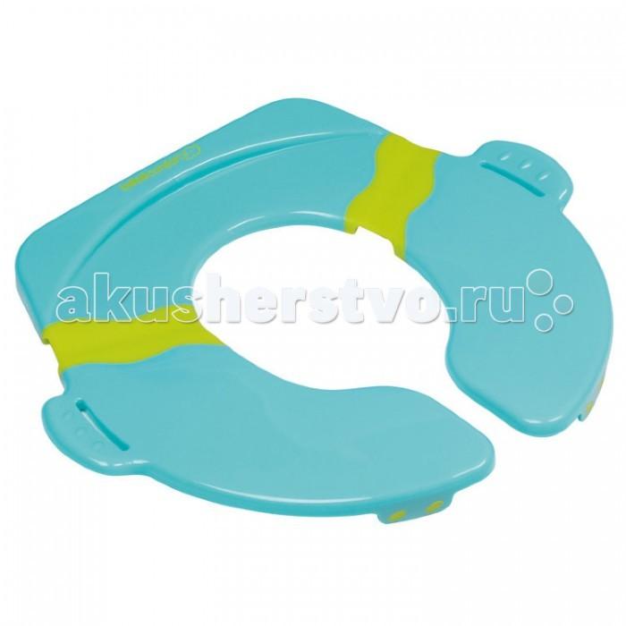 Bebe Confort Сиденье детское для туалета складноеСиденье детское для туалета складноеПрактичное и удобное складное сиденье для путешествий.  Складное сиденье для туалета надежно и безопасно: встроенные ручки, противоскользящие резиновые прокладки.  Удобно хранить/переносить.  Идеально для путешествий.  Чехол для переноски.<br>