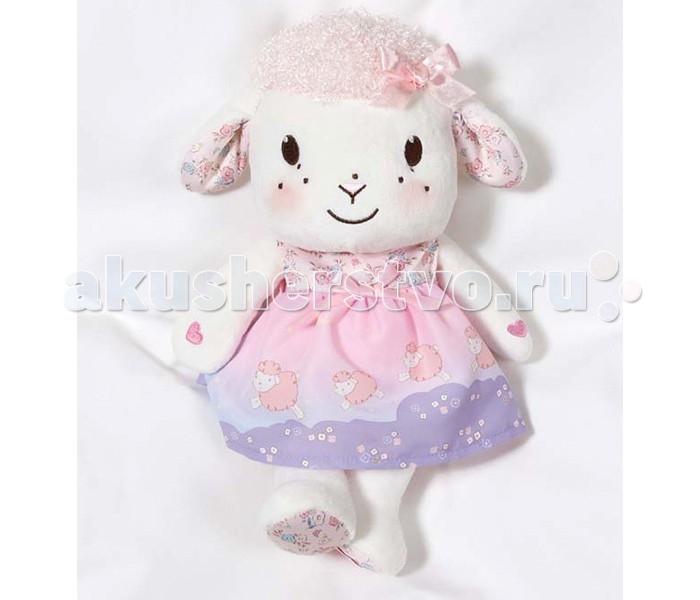 Интерактивная игрушка Zapf Creation Музыкальная овечкаМузыкальная овечкаЧудесная музыкальная овечка от компании Zapf Creation – это замечательная игрушка для малыша. Она очень мягкая и приятная на ощупь, очень миловидная и симпатичная, одета в красивое нежно-розовое платьице, которое, несомненно, понравится девочкам. Овечка умеет петь колыбельную приятным мелодичным голосом, для этого достаточно взяться руками за две её передние ножки одновременно.  Изготовлена игрушка только из высококачественных, гипоаллергенных материалов, безопасных для детского здоровья. Высота игрушки около 20 см.<br>