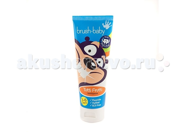Brush-Baby Детская зубная паста Tutti-Frutti 75 мл