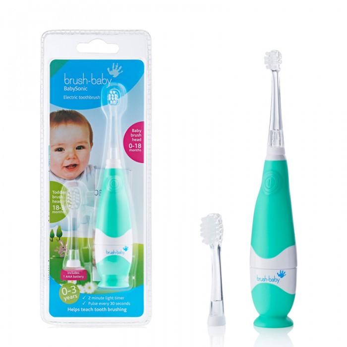 Brush-Baby Электрическая звуковая зубная щётка BabySonic с 0 до 36 мес.