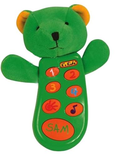 Электронные игрушки K'S Kids Музыкальный телефон Сэм с записью