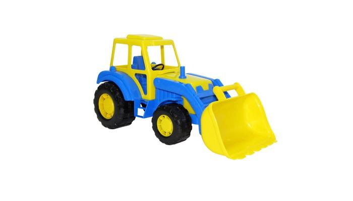 Полесье Трактор погрузчик Алтай 35387Трактор погрузчик Алтай 35387Трактор погрузчик Алтай 35387 это прочная и устойчивая машина. Изготовлен из абсолютно безопасного для детского здоровья экологичного пластика.  Яркий двухцветный трактор погрузчик обязательно привлечет к себе внимание и на долго увлечет вашего ребенка игрой.  Этим трактором можно играть как дома так и на улице вместе с друзьями, совместно придумывая различные сюжеты и развивая в процессе игры моторику рук, глазомер, ловкость и фантазию.<br>