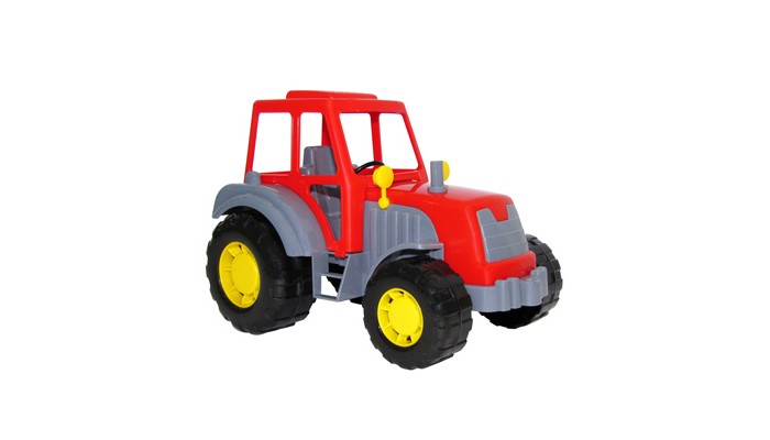 Полесье Трактор Алтай 35325Трактор Алтай 35325Трактор Алтай 35325 это прочная и устойчивая машина, изготовленная из экологичного пластика, абсолютно безопасного для детского здоровья.  Разноцветный трактор обязательно на длительное время привлечет к себе внимание ребенка и увлечет его игрой.  Этим ярким и прочным трактором можно с одинаковым удовольствием играть как дома так и на улице вместе с друзьями, совместно придумывая различные сюжеты и развивая в процессе игры моторику рук, глазомер, ловкость и фантазию.<br>