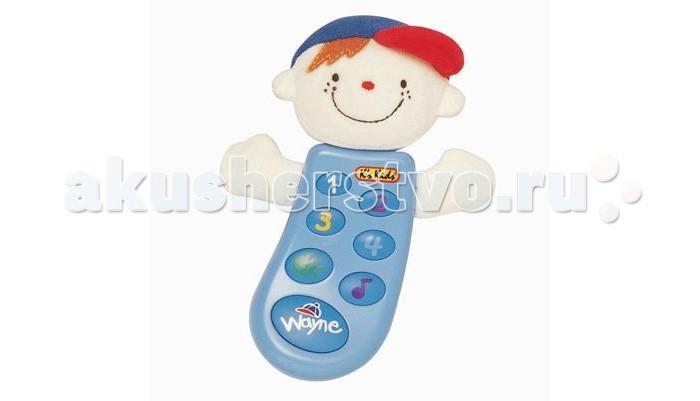 K'S Kids Музыкальный телефон Уэйн с записью