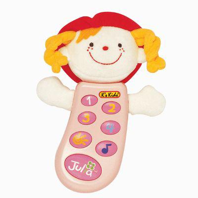 Электронные игрушки K'S Kids Музыкальный телефон Джулия с записью