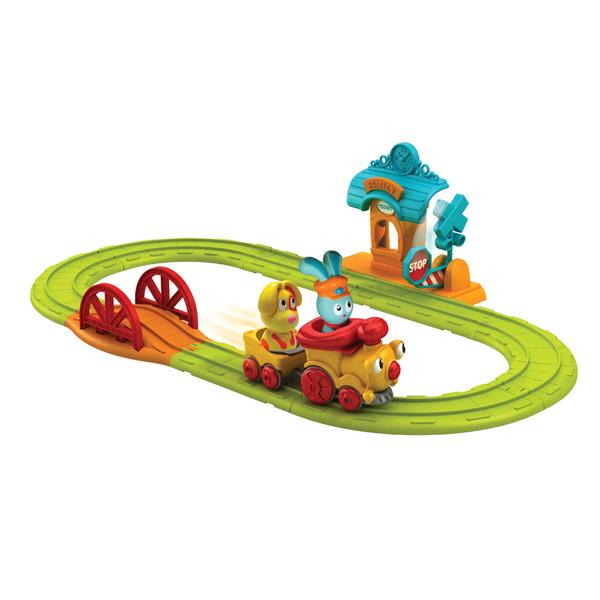 Интерактивные игрушки Ouaps Веселая железная дорога