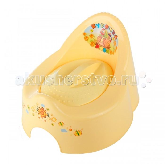 Горшок Tega Baby Курочка РябаКурочка РябаЭтот яркий горшок обязательно понравится вашему малышу. Благодаря специальной анатомической форме и широкому сиденью, ваш ребёнок будет чувствовать себя удобно.   Он изготовлен из качественного пластика и имеет оригинальную расцветку.   Обтекаемая форма изделия обеспечивает комфорт сидящему, а рисунки на спинке надолго привлекут внимание любознательного ребенка.  Внимание! Расцветки в ассортименте!<br>