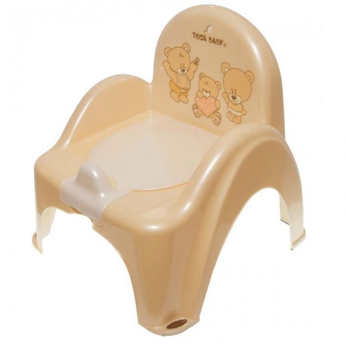 Горшок Tega Baby стульчик Мишкастульчик МишкаУстойчивый и удобный стульчик сделает процесс приучения ребенка к горшку быстрым и комфортным. Горшок имеет спинку, удобное сиденье, повторяющее форму унитаза. Горшок выполнен из высокопрочной пластмассы, легко моется, не накапливая посторонние запахи.  Особенности: материал — высококачественный пластик удобная спинка высокие и удобные подлокотники внутренняя часть горшка легко вынимается и моется отдельно защита от брызг оригинальный дизайн украшен красивыми рисунками поможет в игровой форме приучить ребенка к горшку устойчивый горшок легкий не громоздкий легко мыть  Внимание! Расцветки в ассортименте!<br>
