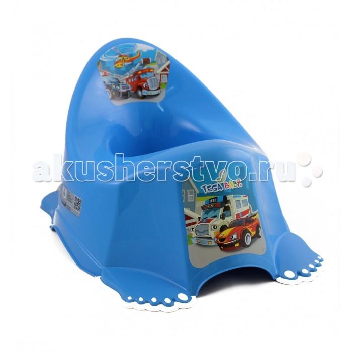 Горшок Tega Baby антискользящий Машины от Акушерство