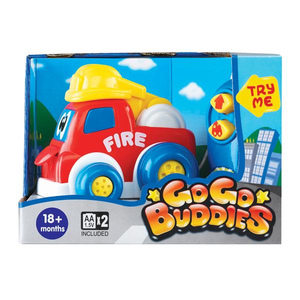 Машины Keenway Веселая пожарная машина GO GO Buddies на ДУ