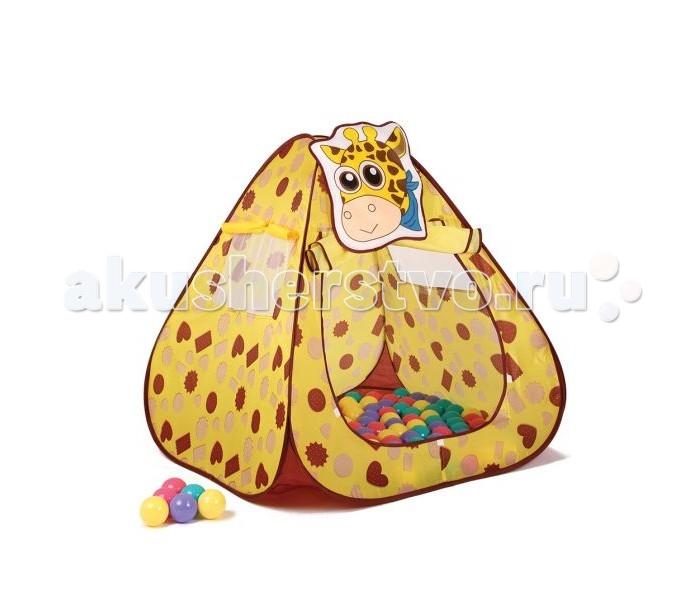 Bony Игровой домик Жираф + 100 шариков