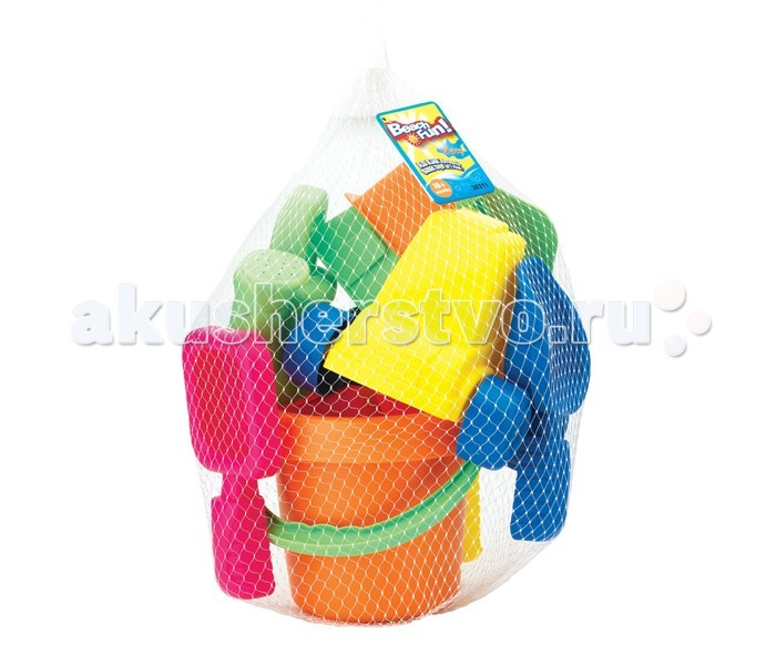 Keenway Набор из 15 игрушек для песочницы 30311Набор из 15 игрушек для песочницы 30311Набор для песочницы. 15 игрушек.<br>