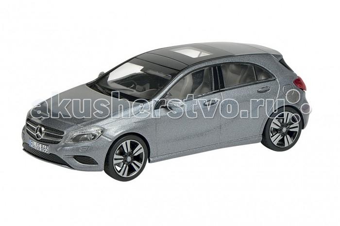 Schuco Автомобиль MB A-Class W176, серый 1:43Автомобиль MB A-Class W176, серый 1:43Автомобиль MB A-Class W176, серый 1:43, 20/40 450752600  Коллекционная модель Mercedes-Benz A-Class W176 от немецкого бренда Schuco - это точная копия одноименного автомобиля в масштабе 1:43. Модель имеет максимально реалистичный вид за счет детализированной проработки корпуса и салона. Колеса машины прорезинены, могут свободно вращаться. Такая модель обрадует любого ребенка, интересующегося техникой, а также отлично подойдет коллекционерам масштабных игрушек.<br>