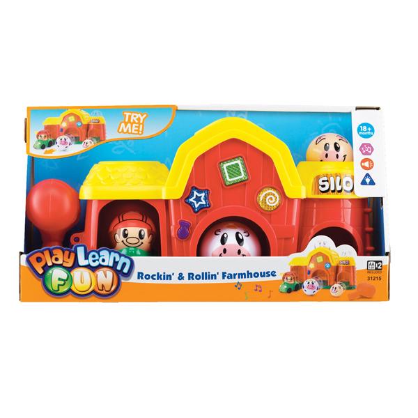 Электронные игрушки Keenway Игровой набор Веселая ферма 31215