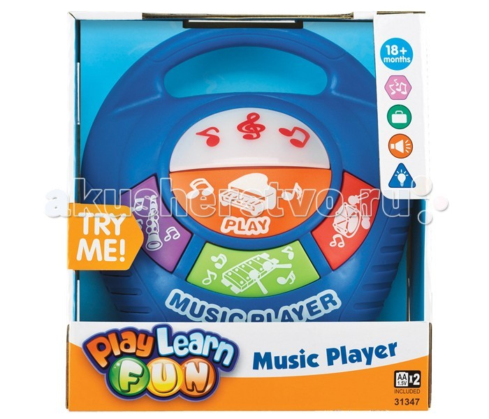 Музыкальные игрушки Keenway Игрушка Музыкальный плеер