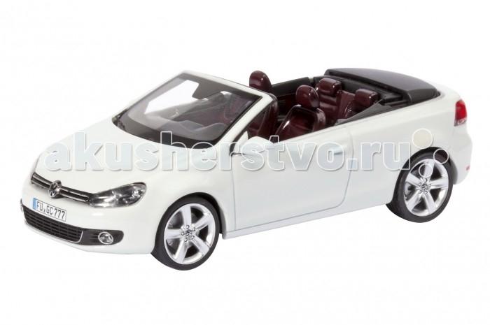 Schuco Автомобиль VW Golf Cabrio, белый 1:43Автомобиль VW Golf Cabrio, белый 1:43Автомобиль VW Golf Cabrio, белый 1:43, 20/40 450746700  Коллекционная модель Volkswagen Golf Cabrio от немецкого бренда Schuco - это точная копия одноименного кабриолета в масштабе 1:43. Модель имеет максимально реалистичный вид за счет детализированной проработки корпуса и салона. Колеса машины прорезинены, могут свободно вращаться. Такая модель обрадует любого ребенка, интересующегося техникой, а также отлично подойдет коллекционерам масштабных игрушек.<br>