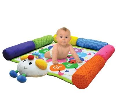 Развивающие коврики K'S Kids Большой коврик Гусеничка