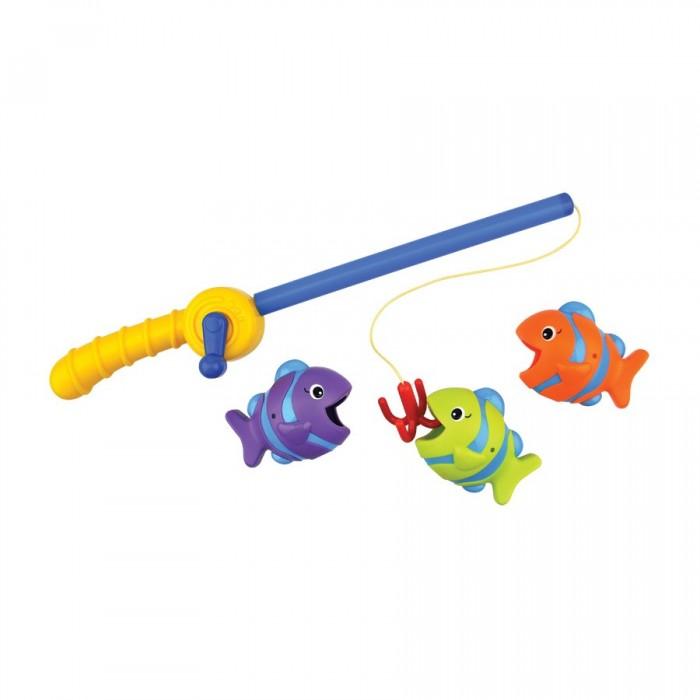 KS Kids Набор для ванны Время рыбалкиНабор для ванны Время рыбалкиKS Kids Набор для ванны Время рыбалки - это самая настоящая удочка с крючком, с помощью которой малыш сможет ловить маленьких разноцветных рыбок.   Особенности: Игрушка выполнена из качественного пластика и порадует радужной окраской. Благодаря детской игре Время рыбалки, ребенок станет более усидчивым и терпеливым.  Игрушка также развивает ловкость и координацию движений.  Процесс купания теперь станет еще более захватывающим, а малыш сможет почувствовать себя настоящим рыбаком.  Длина удочки: 35 см<br>