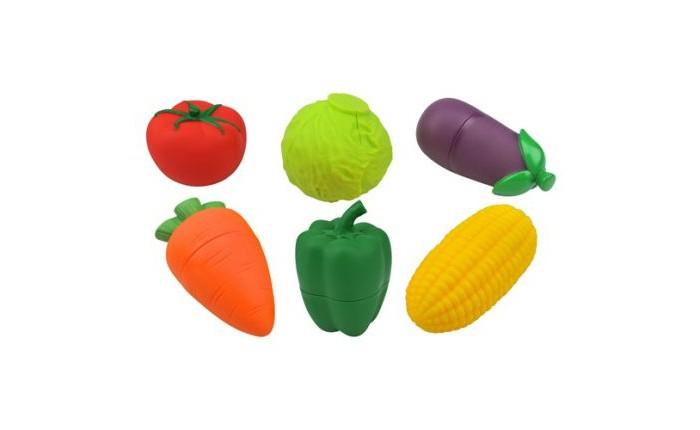 KS Kids Набор ОвощиНабор ОвощиKS Kids Набор Овощи - это конструктор, который научит малыша подбирать правильные половинки, различать цвета и названия овощей.  Особенности: Особенность этого набора заключается в сборке предметов своими руками, чтобы ребенок почувствовал форму предмета.  Овощи можно разделить пополам, а затем опять соединить, чтобы снова придумывать новые кулинарные шедевры.  Конструктор представляет полет фантазии в плане приготовления различных салатов.  Таким набором захочет обладать любая мамина помощница и маленькая домашняя хозяюшка.  Размеры: Размер перца: 6 х 7 х 6 см. Размер кукурузы: 9.5 х 4 х 4 см. Размер томата: 6 х 6 х 4.5 см. Размер моркови: 10 х 5 х 5 см. Размер кабачка: 6.5 х 6.5 х 6.5 см. Размер капусты: 4 х 6.5 х 4 см.<br>