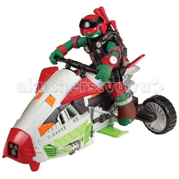 Turtles гровой набор Вездеход-аэроглиссер с фигуркой Рафа